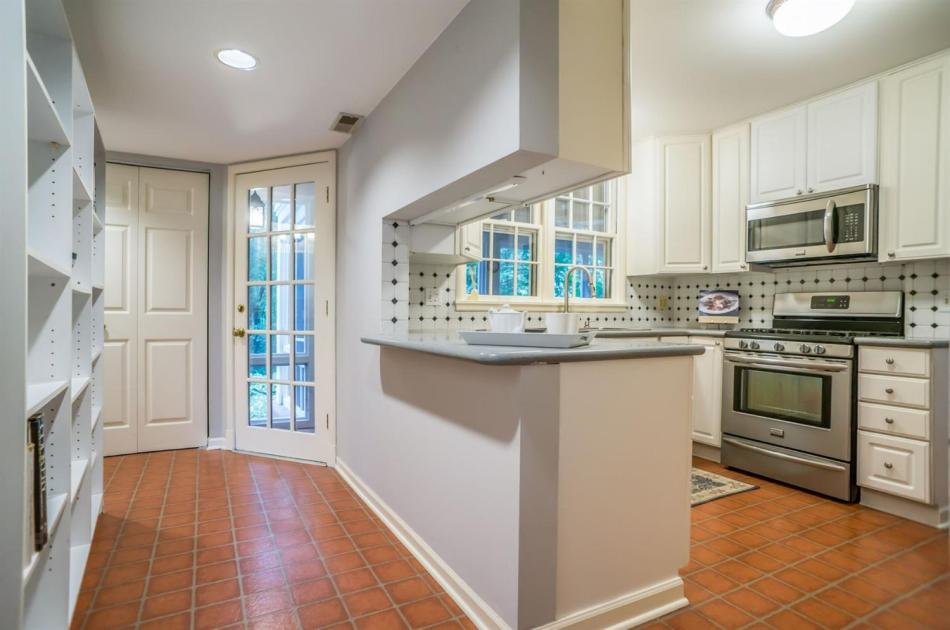 White Kitchen in this beautiful Ann Arbor home