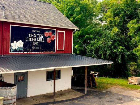 Dexter cider mill in Dexter, MI